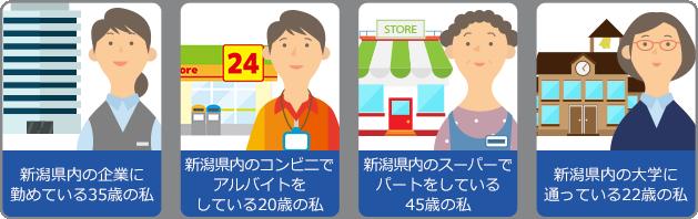 新潟県内にお住まいの方ならどなたでも利用可能です!